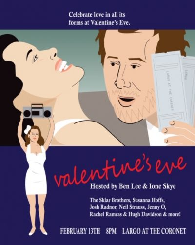 Valentine's Eve - Hosted by Ben Lee & Ione Skye