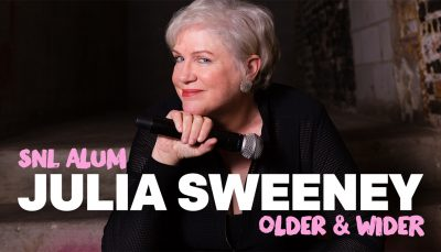 Julia Sweeney: Older & Wider