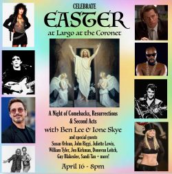 CANCELLED - Celebrate Easter w/ Ben Lee & Ione Skye