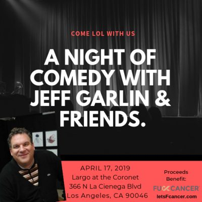 A Night of Comedy with Jeff Garlin & Friends