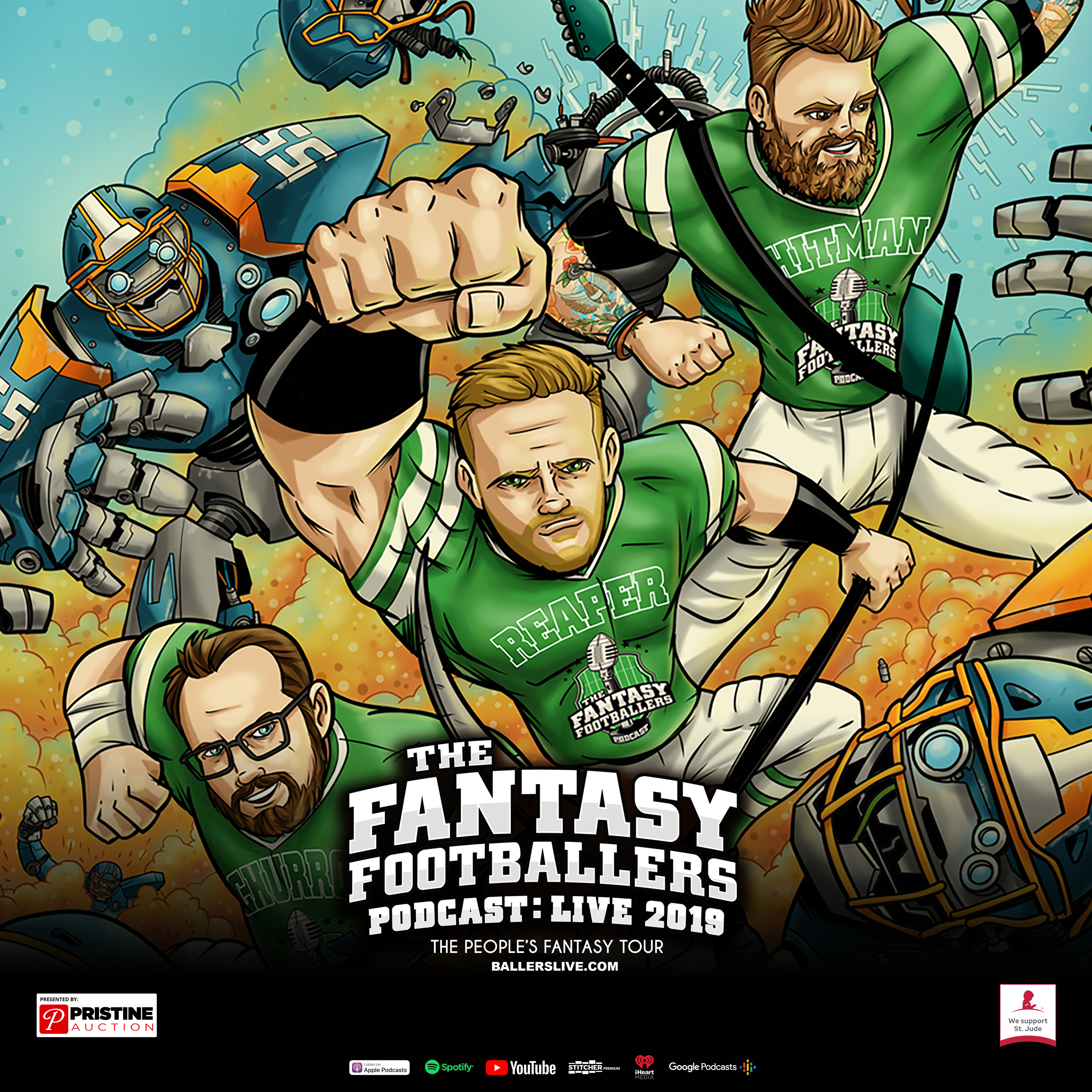 The Fantasy Footballers Podcast: Live