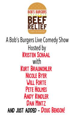 Bob's Burgers Presents BEEF RELIEF!