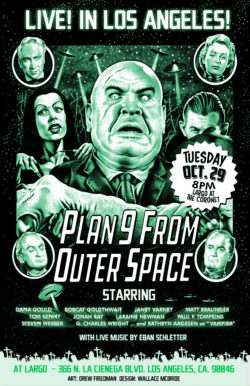PLAN 9 FROM OUTER SPACE - LIVE