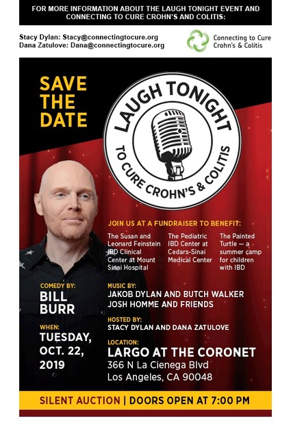 Laugh Tonight To Cure Crohn's & Colitis w/ Bill Burr & More!