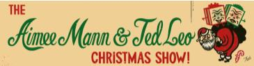"""2019 Aimee Mann and Ted Leo Christmas Show"" - Late Show"