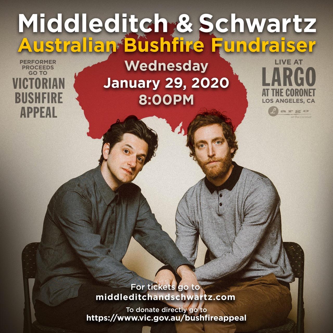 Middleditch & Schwartz - Australian Bushfire Fundraiser