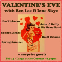 """Valentine's Eve"" with Ben Lee & Ione Skye"