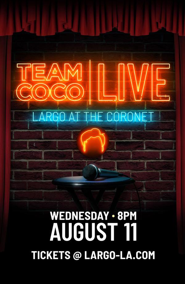 TEAM COCO LIVE