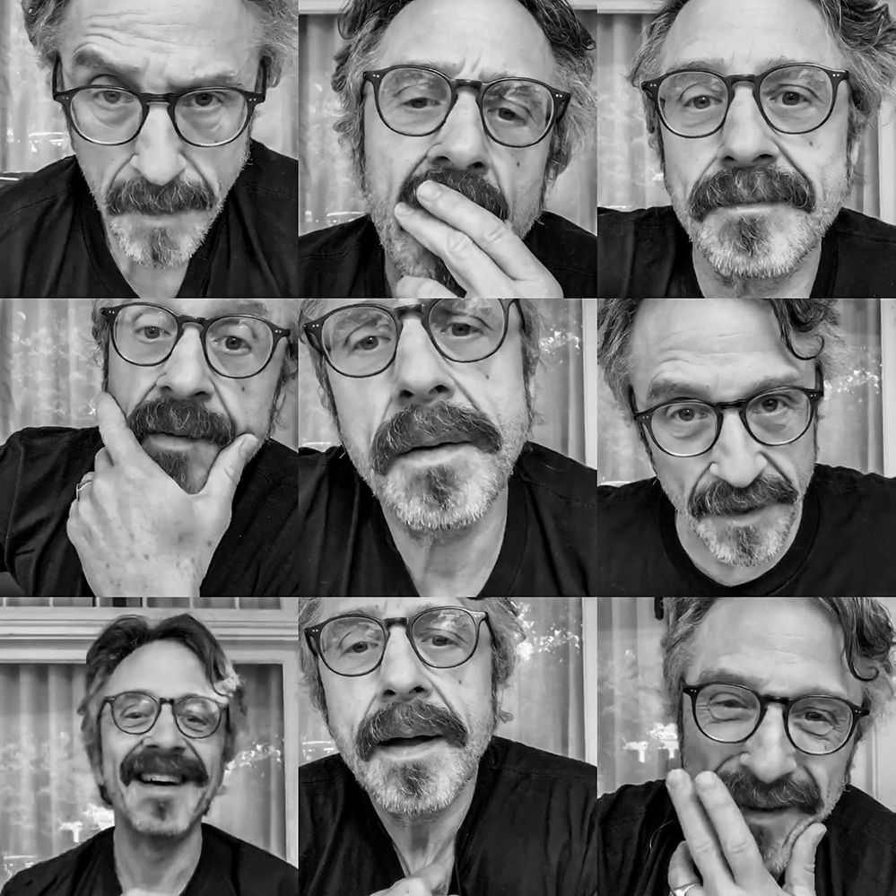 Marc Maron plays music and does comedy and has friends over.