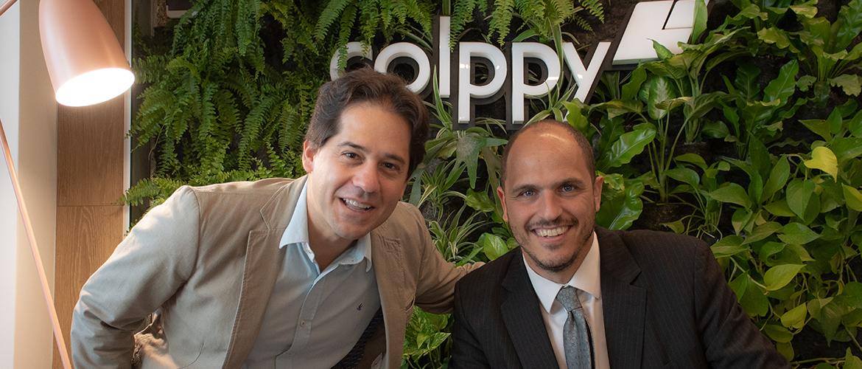 Mariano Rizzi y Juan Ignacio Onetto, fundadores de Colppy