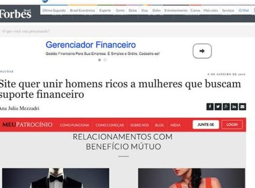 Site de Namoro Quer Unir Homens Bem-Sucedidos e Mulheres que Buscam Suporte Financeiro