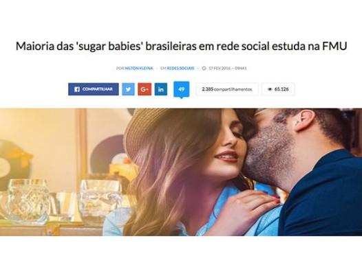 Maioria das 'sugar babies' brasileiras em rede social estuda na FMU