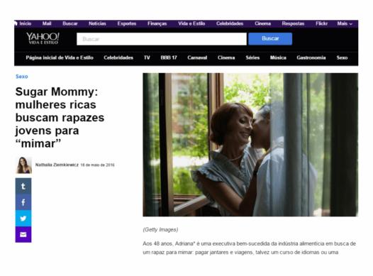 Sugar Mommies ricas buscam rapazes para mimar – Meu Patrocínio