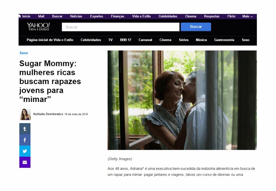 Sugar Mommies ricas buscam rapazes para mimar – MeuPatrocínio