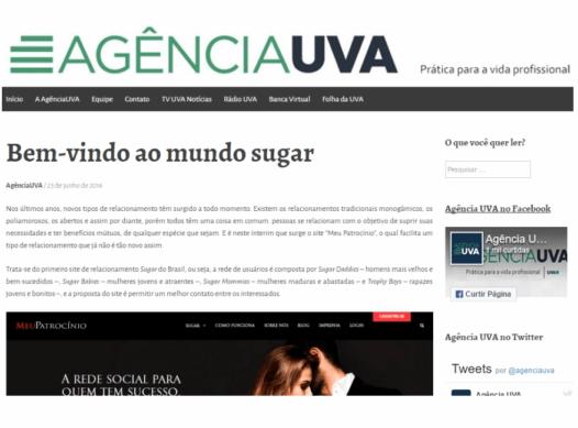 Bem-vindo ao mundo sugar