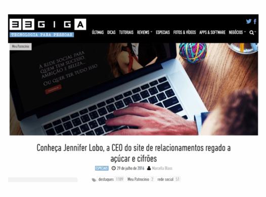 Conheça a CEO Jennifer Lobo da Rede Social – Meu Patrocínio