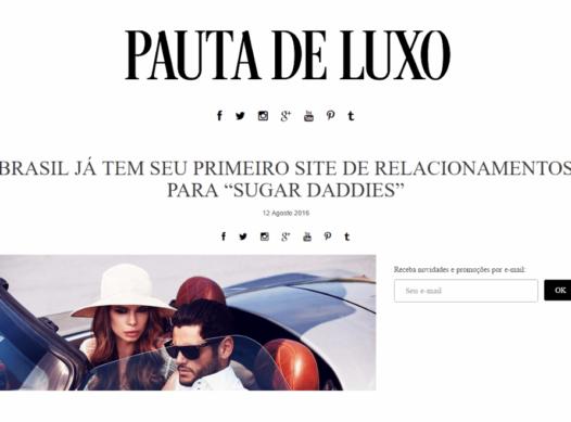Brasil apresenta Rede Social para Sugar Daddy – Meu Patrocínio