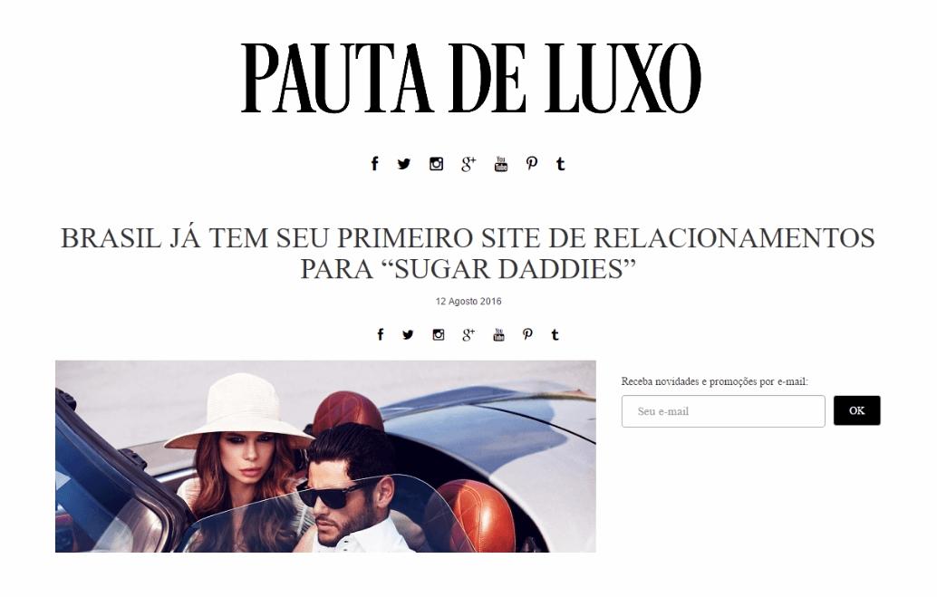 Brasil apresenta Rede Social para Sugar Daddy – MeuPatrocínio