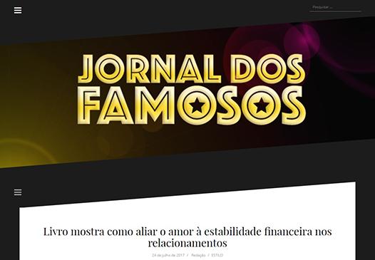 Jornal dos Famosos – Livro como conseguir um homem rico