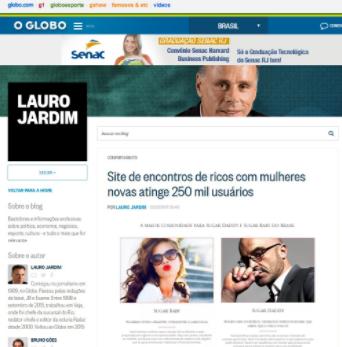 Lauro Jardim – publica últimos números do Meu Patrocínio