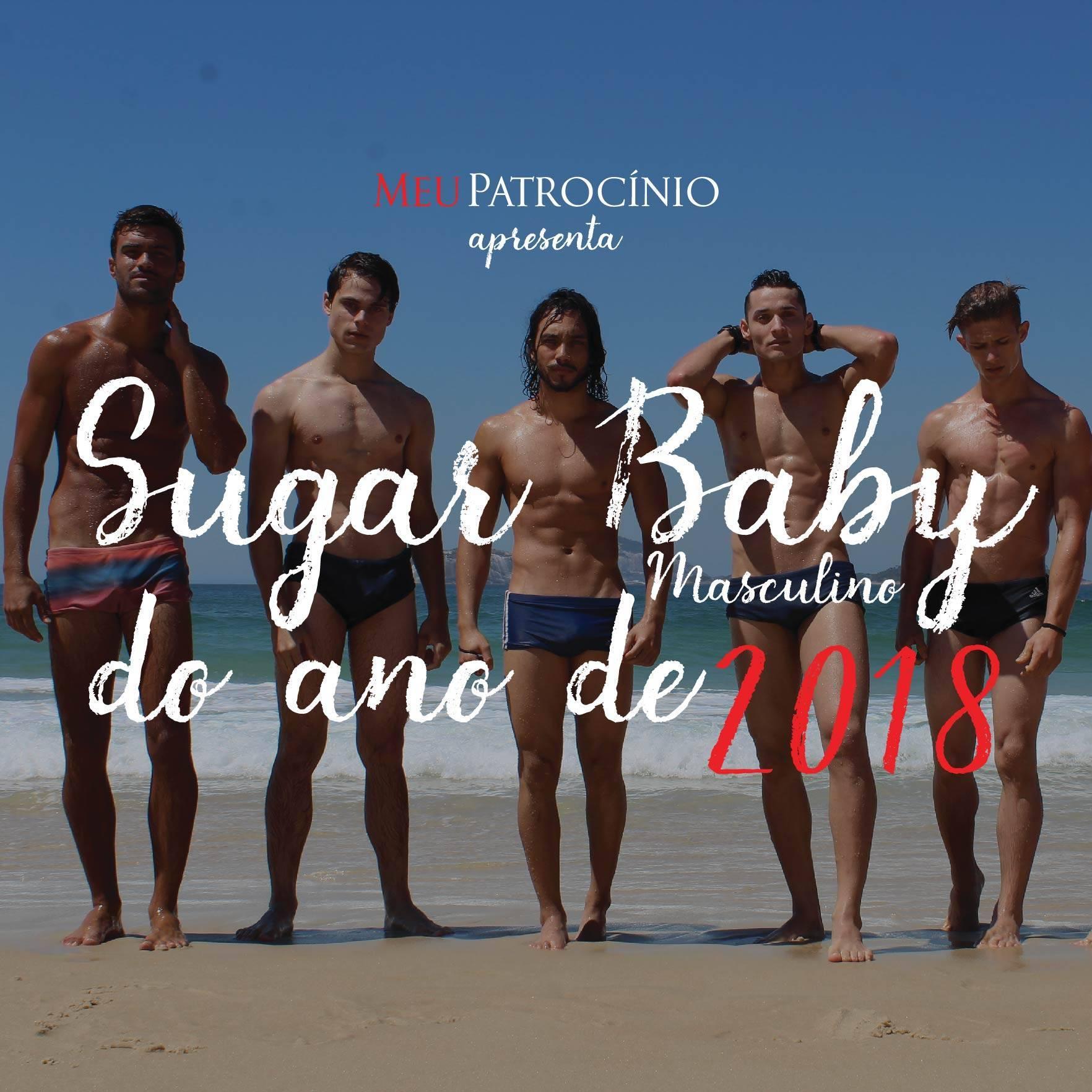 Calendário Sugar Baby Masculino 2018