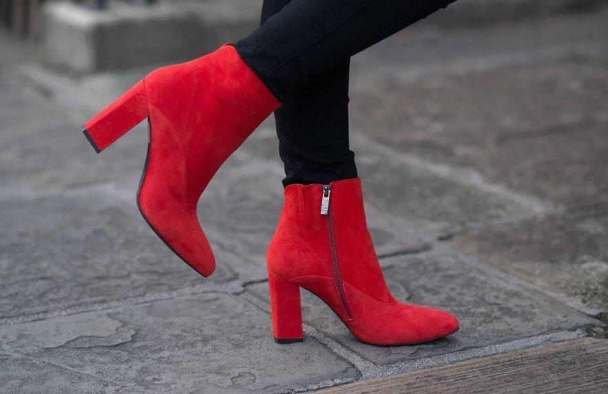 Botas vermelhas serão as queridinhas deste inverno, Sugar Baby