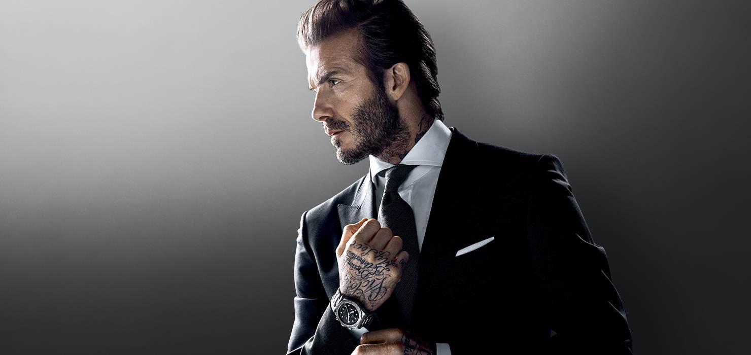 David Beckham é embaixador da moda britânica