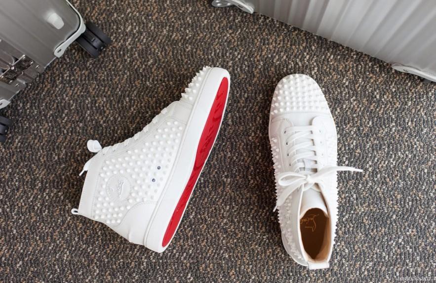 Christian Louboutin e seus calçados masculinos