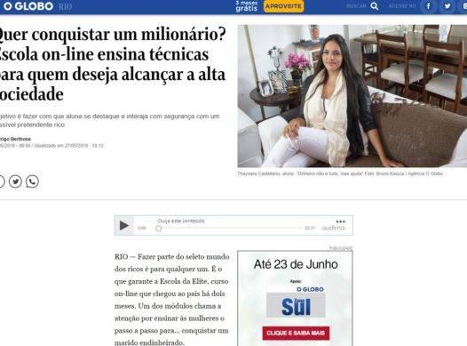 Quer conquistar um milionário? Escola on-line ensina técnicas para quem deseja alcançar a alta sociedade