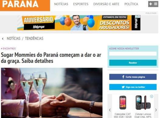 Sugar Mommies do Paraná começam a dar o ar da graça