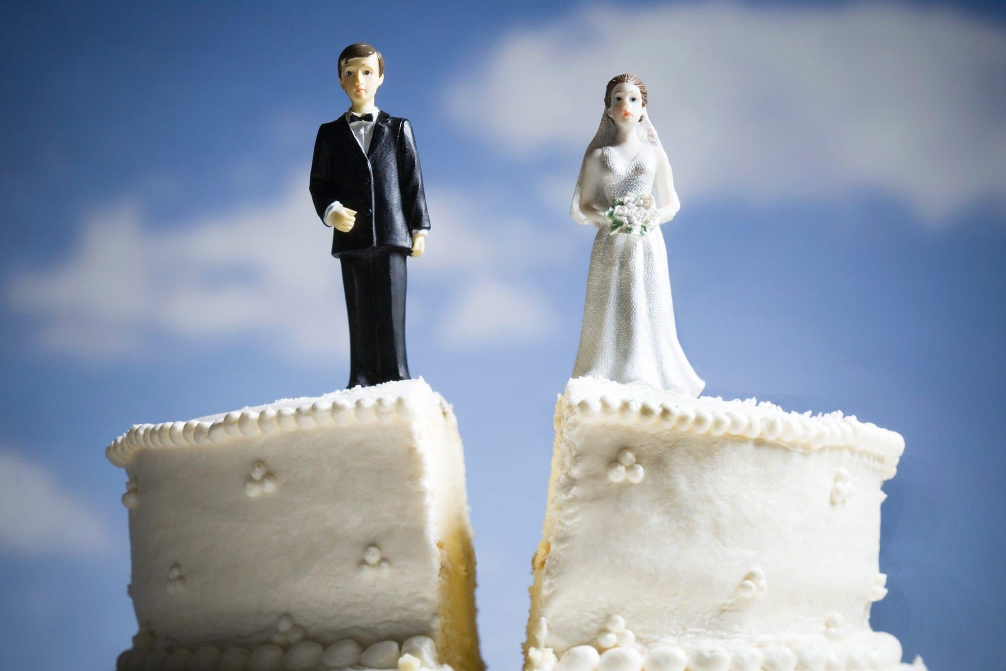 Aumenta o número de divórcios entre pessoas com mais de 50 anos