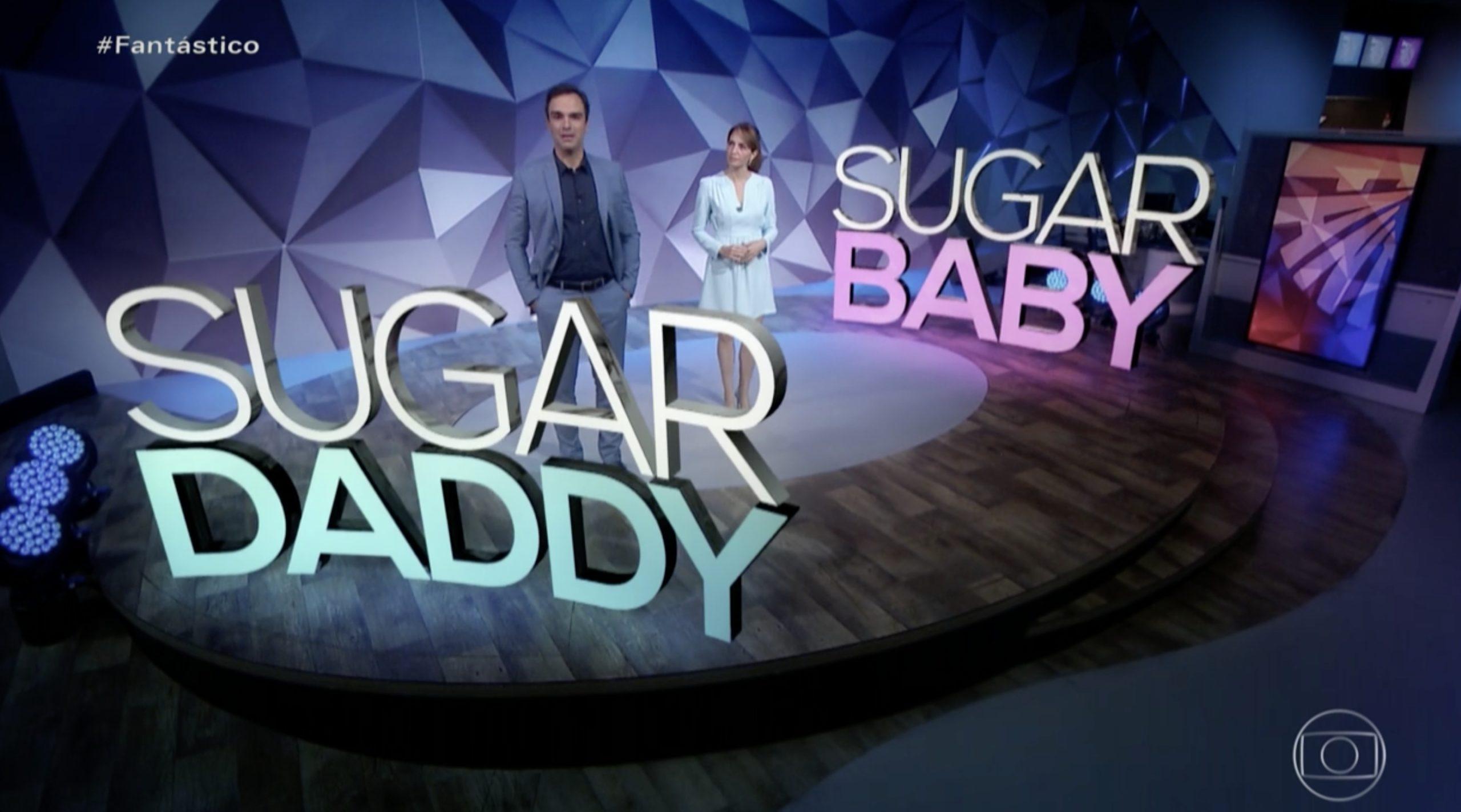 Relacionamento sugar vira assunto no Fantástico