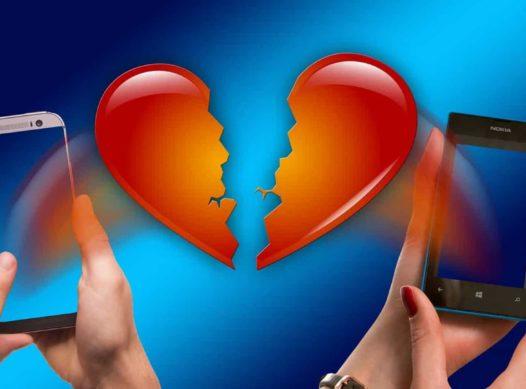 Site pesquisa sobre os motivos que levam o fim de um relacionamento