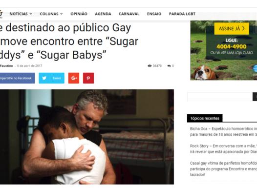 Site destinado ao público Gay promove encontro – Meu Patrocínio Gay