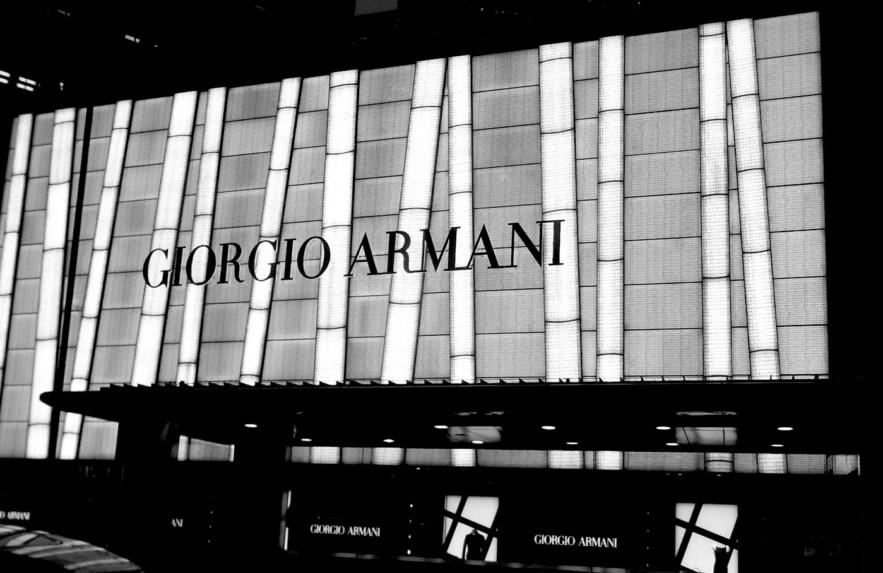 Série Grandes Marcas: Armani – Meu Patrocinio Gay
