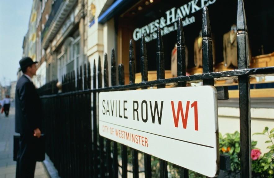 Lugar de Luxo: Savile Row