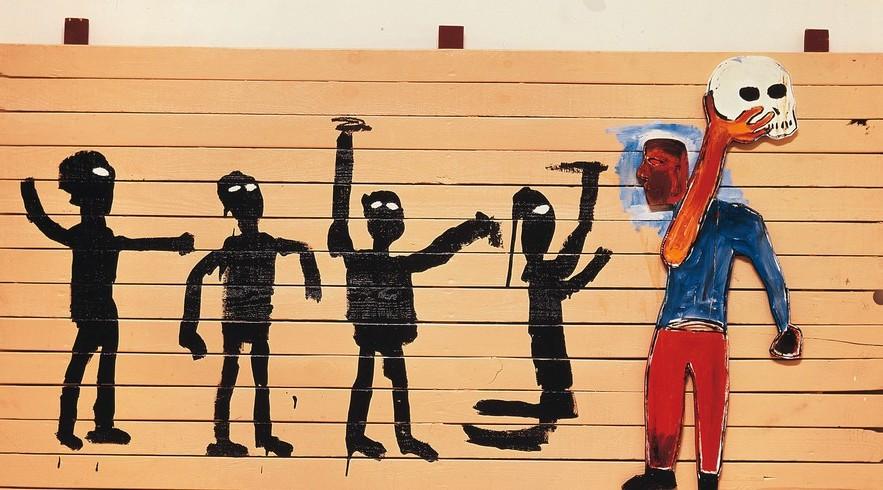 Exposição Basquiat em São Paulo