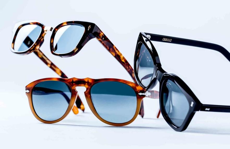 Aposte nos óculos com lente azul