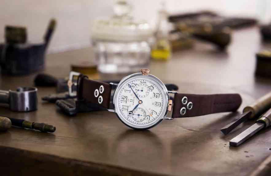 OMEGA lança modelo inspirado nos primeiros relógios da marca