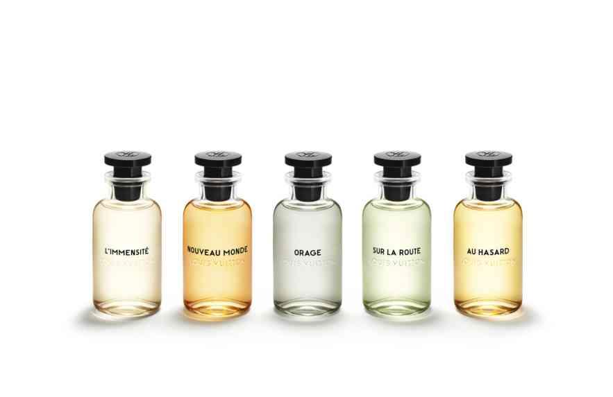 Louis Vuitton lança linha de perfumes masculinos