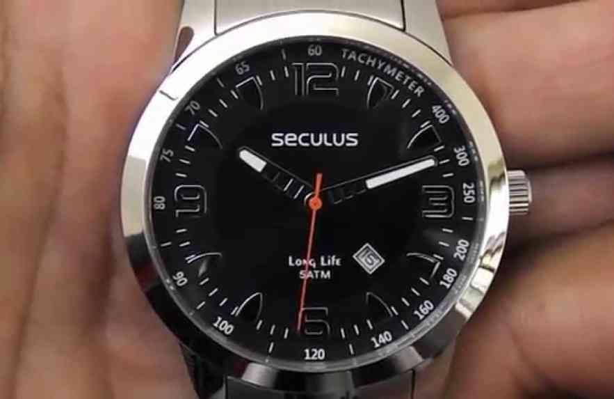 Três marcas nacionais de relógio