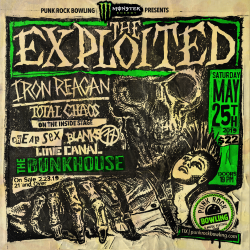 The Exploited Punk Rock Bowling 2019 Club Show Monster Energy & PRB