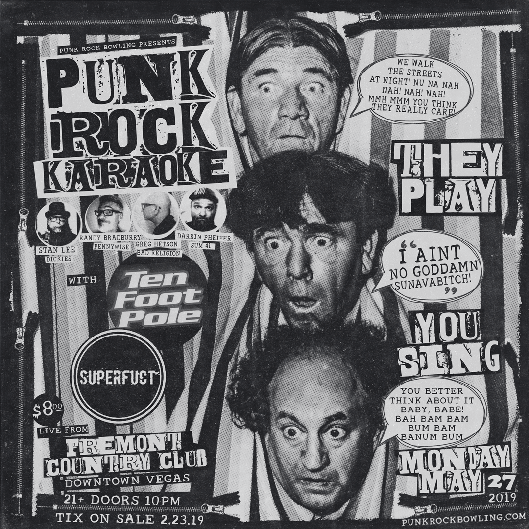 Punk-Rock-Karaoke-Punk Rock Bowling Club Show 2019 Las Vegas