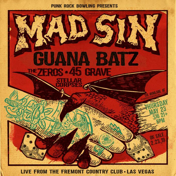 Mad-Sin-Punk Rock Bowling Club-Show-2019