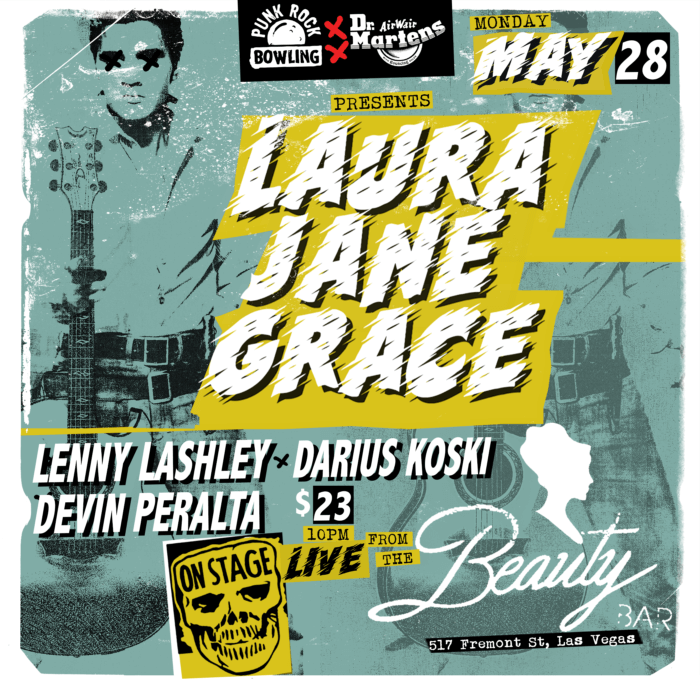 Laura Jane Grace, Lenny Lashley, Darius Koski