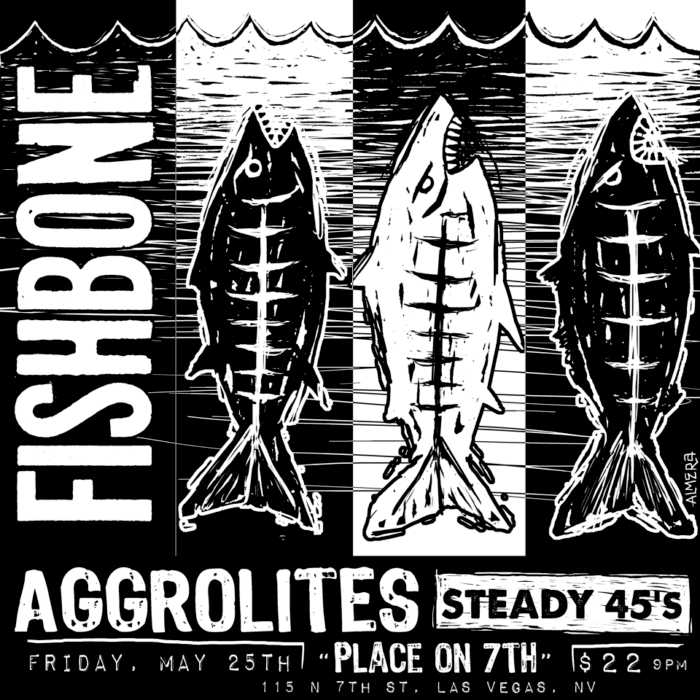 Fishbone, The Aggrolites, The Steady 45s