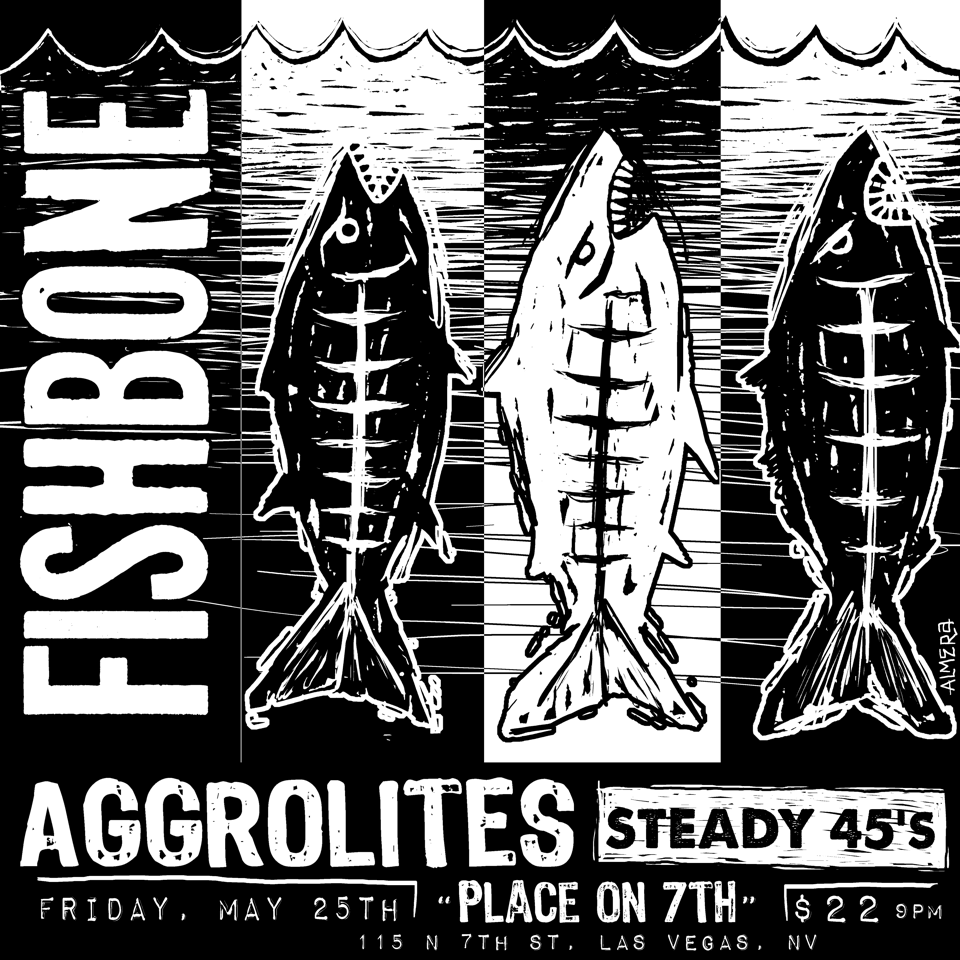 Fishbone, The Aggrolites, The Steady 45s