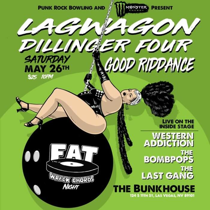 lagwagon, dillinger four, good riddance, western addiction