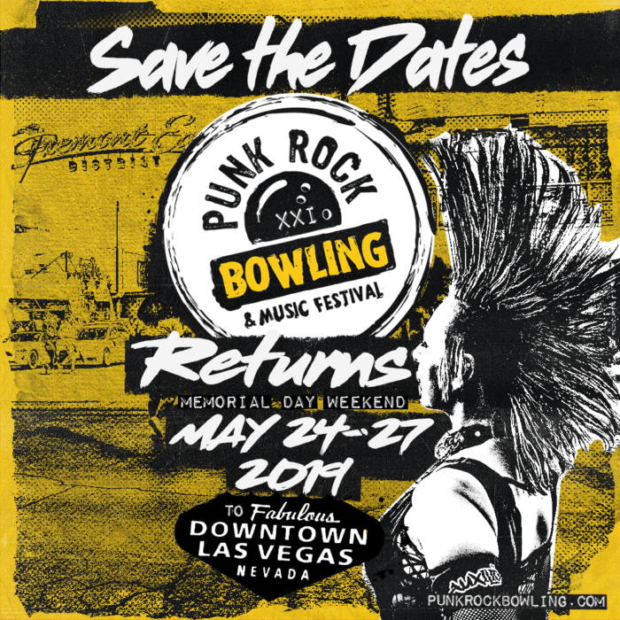Save the Dates! Punk Rock Bowling Returns to Vegas May 2019