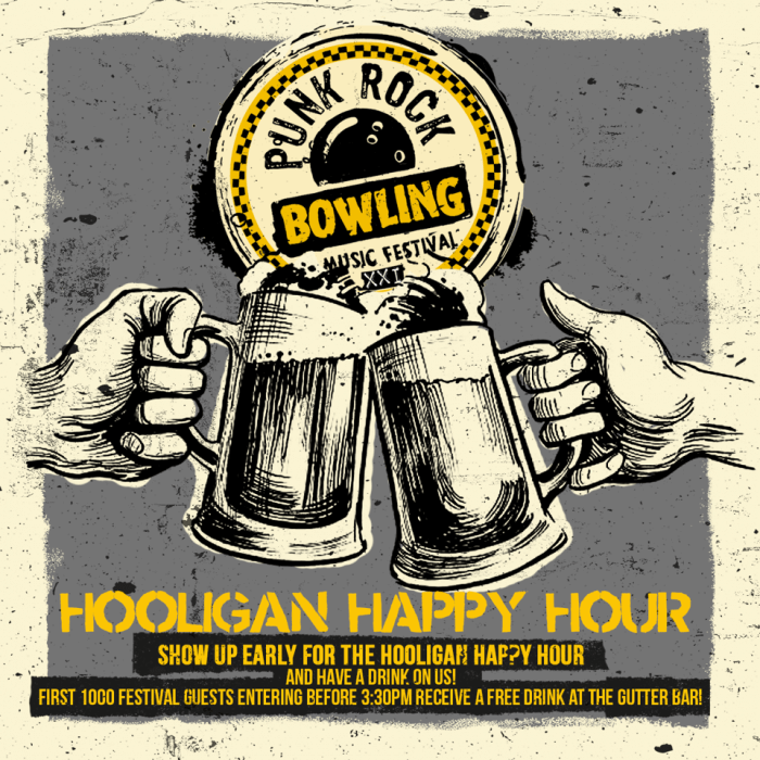 hooligan-happy-hour punk rock bowling 2019